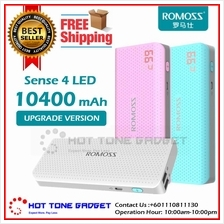 ROMOSS SENSE 4 6 Plus 10400mAh 20000mAh Powerbank for xiaomi pineng