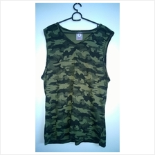 Gym Army Singlet Multi Colour (high quality cotton)