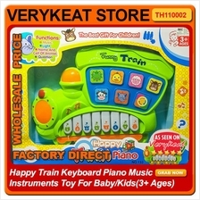 Happy Train Keyboard Piano Music Instruments Toy Baby/Kids(3+ Ages)