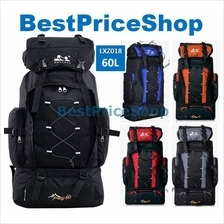 LXZ-018 60L Outdoor Climbing Camping Hiking Sport Quality Backpack Bag