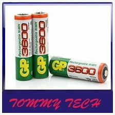 Gp 4PCS/SET  rechargeable batteries  AA  high high capacity 3000
