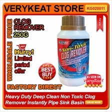 Heavy Duty Deep Clean Non Toxic Clog Remover Instantly Pipe Sink Basin