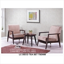 LC DECO TEA SET TSD088(CHAIR/TABLE KERUSI TAMAN)