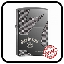 Zippo 28817 Jack Daniel''s Armor Black Ice with Free Engraving  & Flint