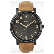 TIMEX T2N677 (M) Originals Classic Round leather strap tan
