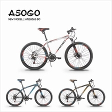 [CRONUS.MY] ASOGO 1526562-BC 26' 21 Speed Alloy Mountain Bike MTB