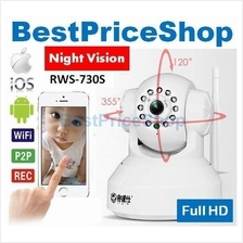 720 HD P2P Wireless RWS-730S CCTV IP Camera Wifi Night Vision SD Card
