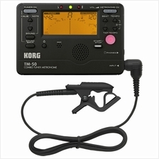 Korg TM-50C Combo Tuner / Metronome with Contact Microphone