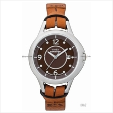 TIMEX T49645 (W) Expedition Midsize Metal Tech leather strap brown
