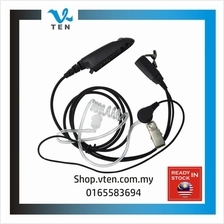 Air Tube Earphone PTT For Motorola GP328 GP338 GP329 Walkie Talkie