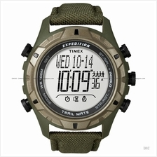 TIMEX T49846 (M) Expedition Trail Mate nylon strap green