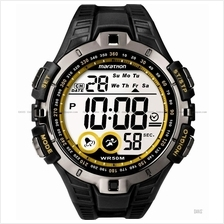 TIMEX T5K421 (M) Marathon Digital Watch resin strap black yellow