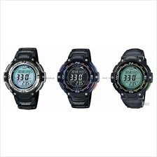 CASIO SGW-100 SGW-100B OUTGEAR compass thermo world time stopwatch