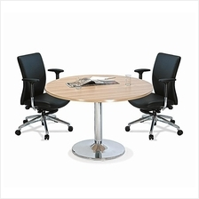 Office Small Round Meeting Table OFMR120 restaurant hotel furniture KL