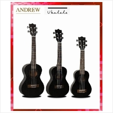 Andrew Ukulele 21' Hawaii Four String Guitar Free Gift