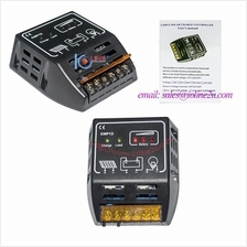 10A 12V 24V PWM Solar Charge Controller charger with battery level LED