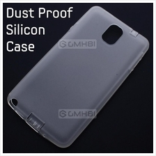 Samsung Galaxy Note 3 N9000 Dust Proof Blocker Matte Soft Jacket Case