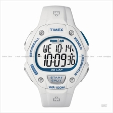 TIMEX T5K249 (M) IRONMAN Triathlon 30-Lap resin strap white