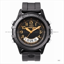 TIMEX T49769 (M) Expedition Trail Series Combo silicone strap black