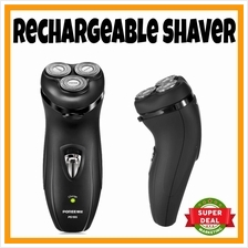 READY STOCK Electric Rechargeable Men Shaver Beard Mustache