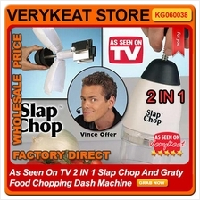 As Seen On TV 2 IN 1 Slap Chop And Graty Food Chopping Dash Machine