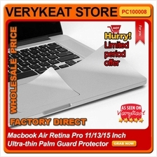 Macbook Air Retina Pro 11/13/15 Inch Ultra-thin Palm Guard Protector