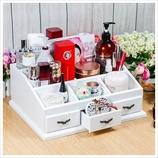 Beauty Makeup & Jewelry Organizer Storage Box Counter Display 3Drawers