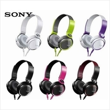 Sony MDR-XB400 Extra Bass Headphones Earphone Folding Design