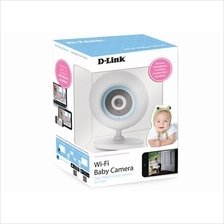 D-Link DCS-820L MicroSD Mic Record Wireless WiFi Baby Camera Monitor