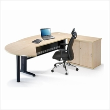 Office Executive Writing L Shape Table OFQMB180A klang valley selangor