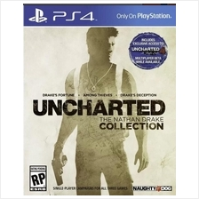 Uncharted Trilogy Collection PS4