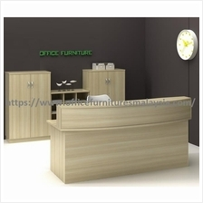Office Reception Counter Table OFCD1800 front desk selangor ampang