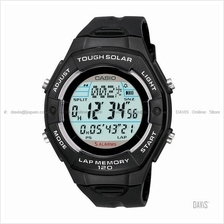 CASIO LW-S200H-1A STANDARD Ladies Trainer solar resin strap black