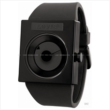LEVI'S TIME LTH0707 STANDARD disk dial silicone strap all black