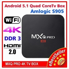 MXQ S805 QuadCore Android 4.4 Smart TV Box XMBC Kodi IPTV HD Player
