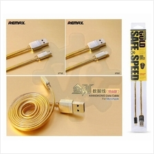 Remax Kingkong Golden Gold Turbo Charge Micro Lightning USB Cable 2.1A