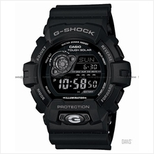 CASIO GR-8900A-1 G-SHOCK world time tough solar resin strap black