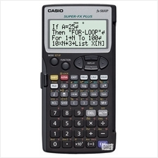 CASIO FX-5800P Calculator Programmable AAA powered flip cover
