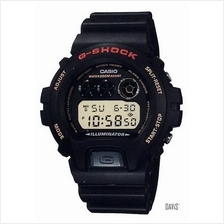 CASIO DW-6900G-1V G-SHOCK Mission Impossible resin strap watch black