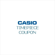 CASIO Timepiece discount coupon redemption form