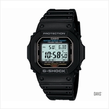 CASIO G-5600E-1 G-SHOCK Classic Solar NASA approved resin strap black