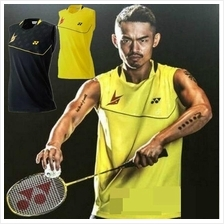 Men Sleeveless Badminton Jersey 16000 Lin Dan