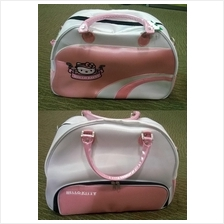 Hello Kitty Light Pink Original Sports Bag + Shoe Compartment ( Sport