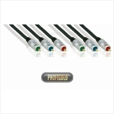 PROFIGOLD PRO PGV335 5.0m/16.4ft 3xRCA Male - 3xRCA Male interconnect