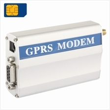 RS232 GPRS Modem / GSM Modem, Support SIM Card, GSM: 900 / 1800MHz