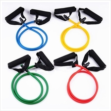Resistance Band Stretch Fitness Tube Latex Cable Workout Yoga Muscle