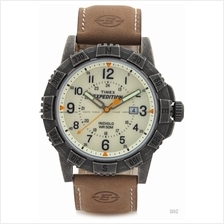 TIMEX T49990 (M) Expedition Rugged Metal Field leather strap brown