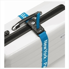Luggage Strap with Digital Scale & Lock