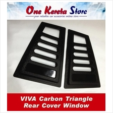 Perodua Viva Carbon Triangle Mirror Panel Rear Side Window Cover