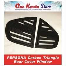 Proton Persona Carbon Triangle Mirror Panel Rear Side Window Cover